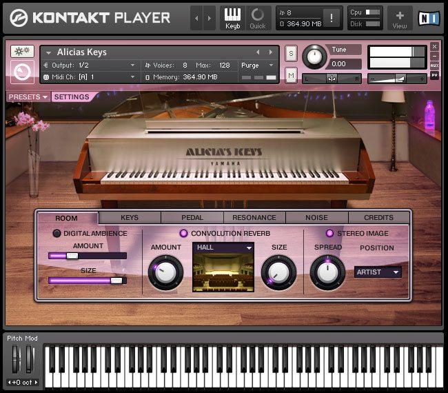native instruments keyboard vst