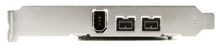 SIIG 3-port FW800 PCIe Card | Sweetwater