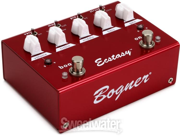 save up to 80% new style new design Bogner Ecstasy Red Overdrive Pedal | Sweetwater