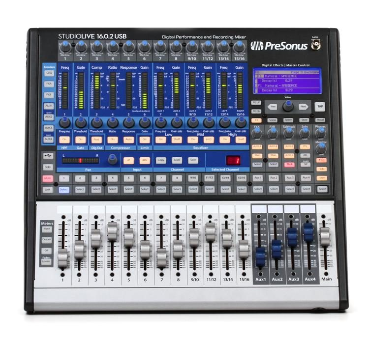 presonus studiolive 16 0 2 usb digital mixer sweetwater rh sweetwater com PreSonus 16.4.2 16.0.2 Mixer