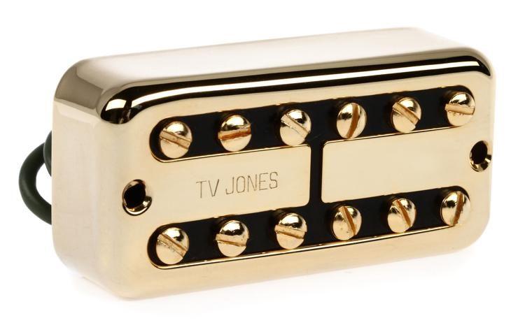 Tv Jones Pickups >> Tv Classic Pickup Bridge Gold