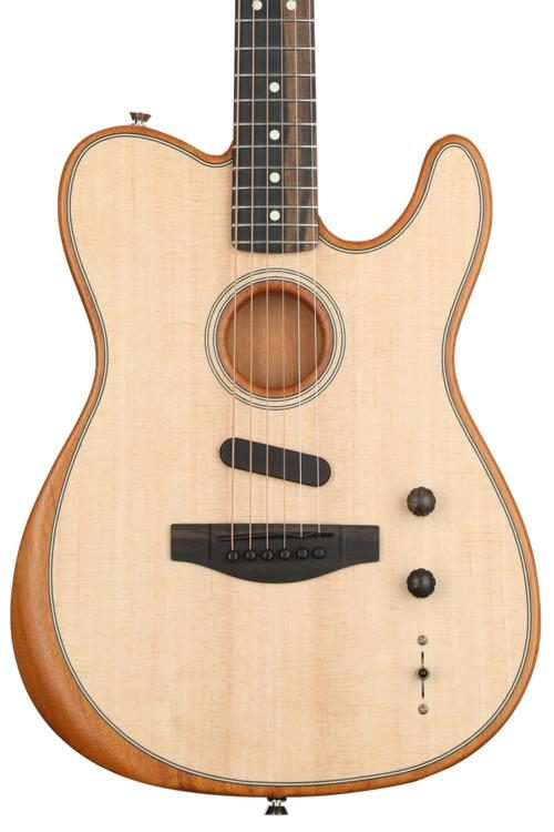 Acoustasonic Telecaster - Natural on