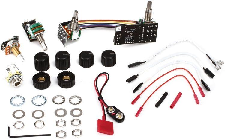 BQC System 4-knob Active Bass Preamp System
