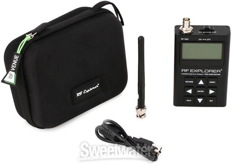 RF Venue RF Explorer Pro Audio Edition Spectrum Analyzer | Sweetwater
