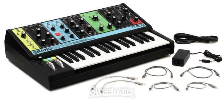 Moog Grandmother Semi-Modular Analog Synthesizer and Step Sequencer