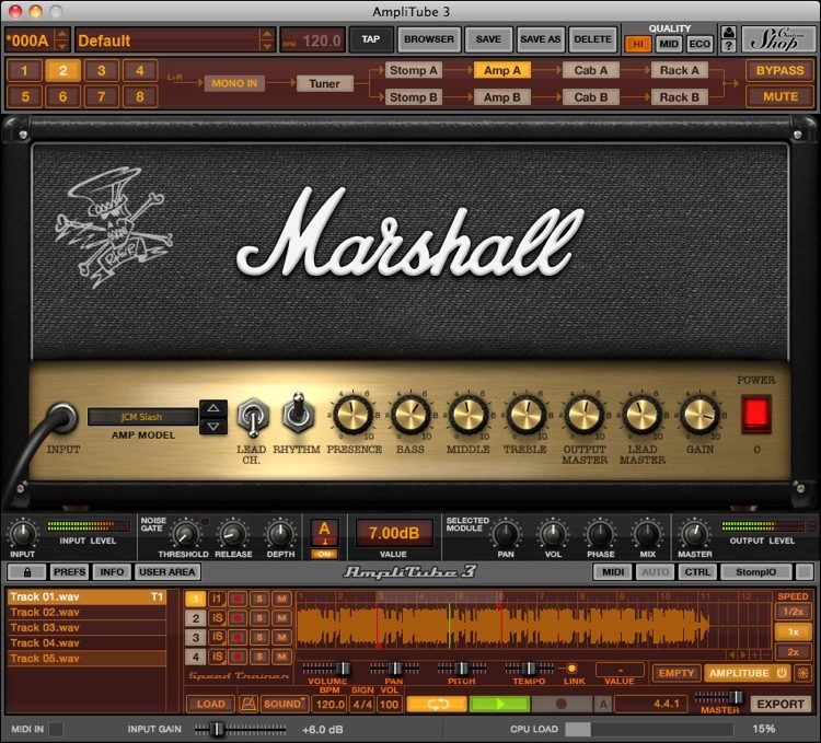amplitube slash mac free download