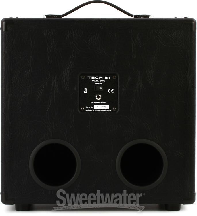Tech 21 Ex112 1x12 Extension Speaker Cabinet Blue Sweetwater