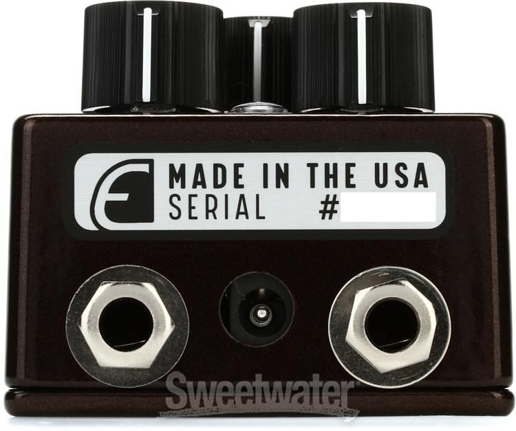 Emerson Custom EM-Drive Mach 2 Transparent Overdrive Pedal
