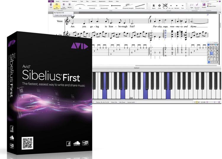 Sibelius 7 First (download)