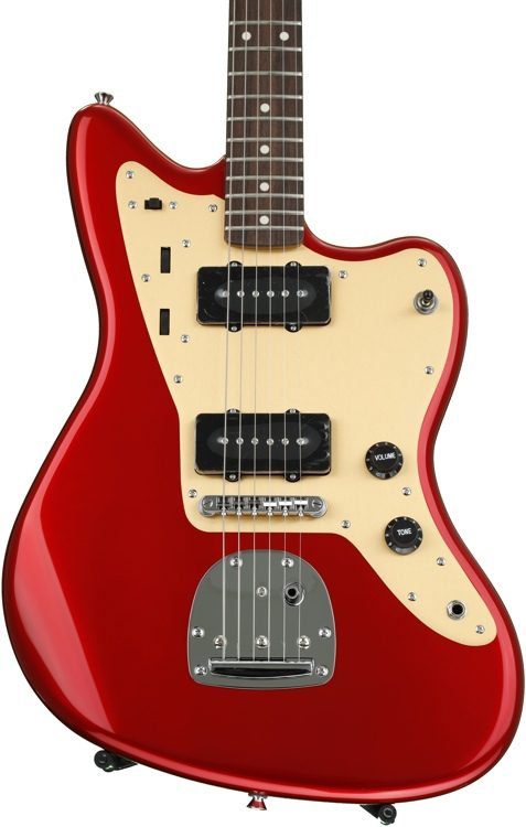 Deluxe Jazzmaster with Tremolo - Candy Apple Red