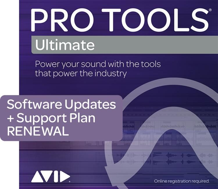 1-Year Updates + Support RENEWAL for Pro Tools | Ultimate Perpetual License