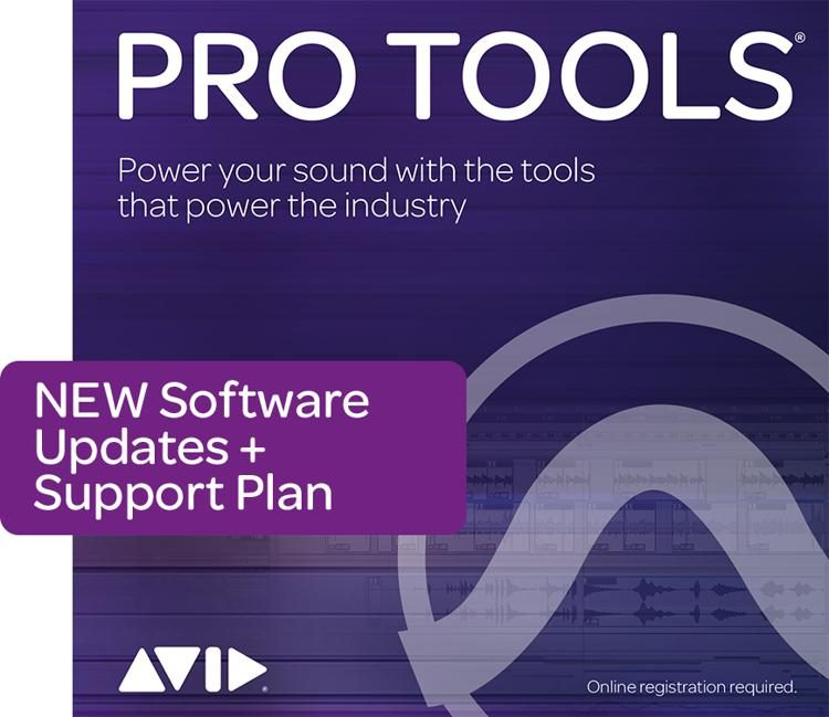 Avid 1 Year Updates Support For Pro Tools Perpetual License