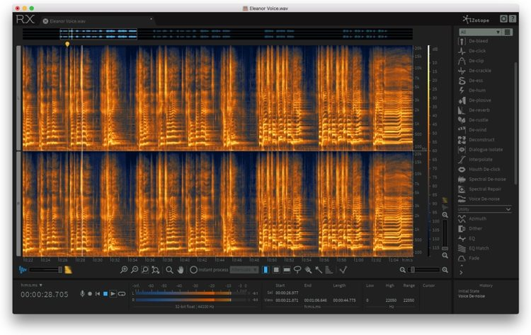 iZotope RX 6 Advanced Audio Editor - Upgrade from RX 1-6 | Sweetwater