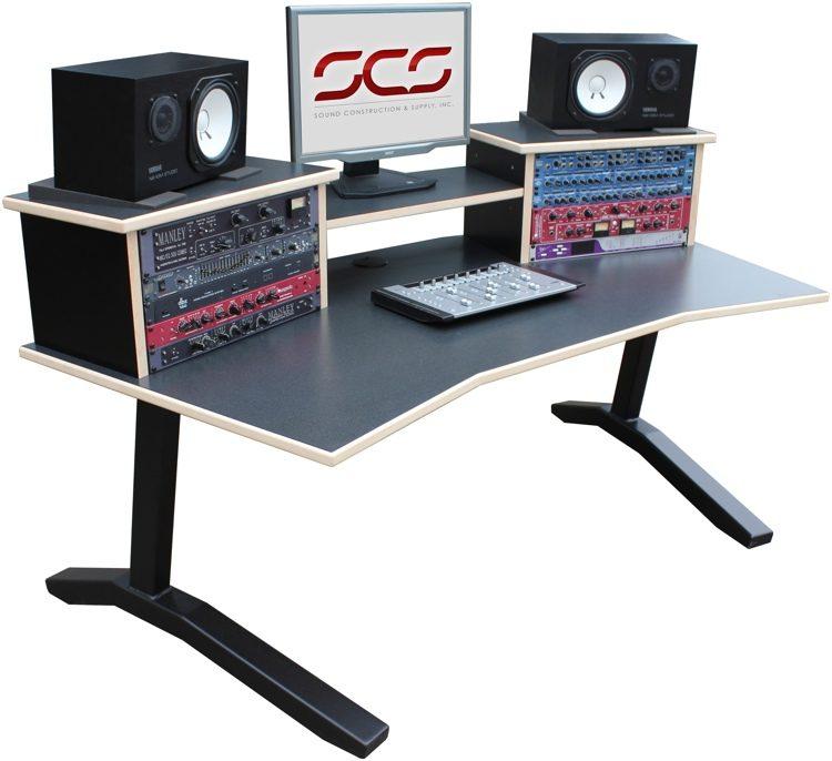 Goede Sound Construction DS-HS/W DigiStation Home Studio Desk | Sweetwater LN-27