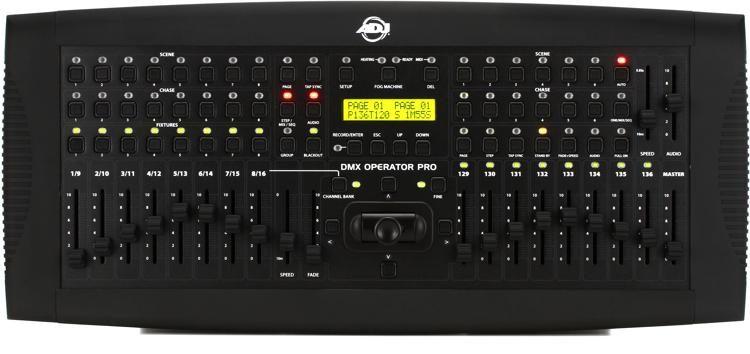Dmx Operator Pro 136 Ch Lighting Controller