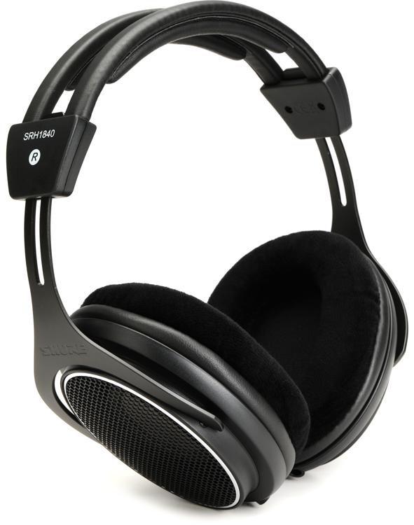 Shure SRH1840 Open-back Mastering and Studio Headphones  43849d751b671