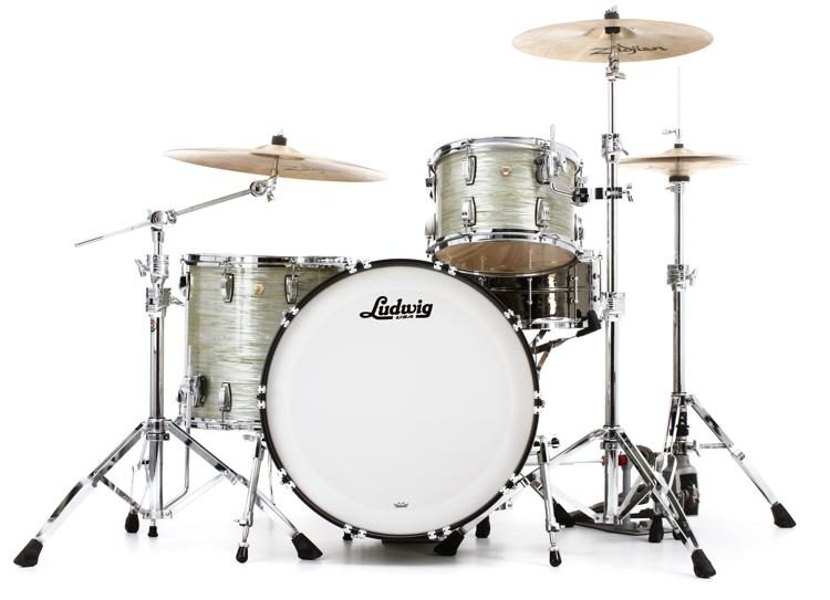 Classic Maple Pro Beat 24 Shell Pack - Olive Oyster