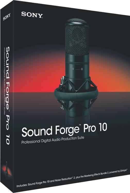 Sound Forge Pro 10