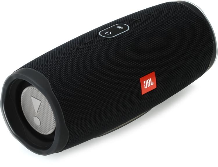 Jbl Lifestyle Charge 4 Portable Bluetooth Speaker With Usb Charging Black Sweetwater