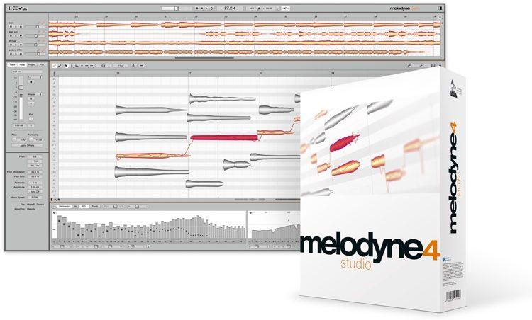 Celemony Melodyne 4 studio - Upgrade from Melodyne essential ...