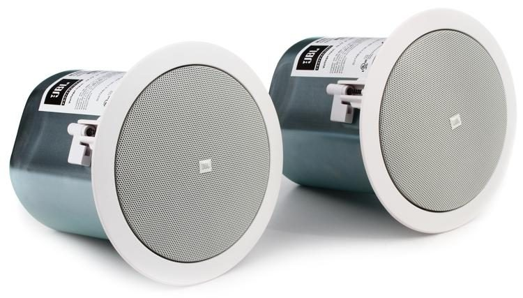 coaxially ceiling jbl with control compact ceilings foreground rubber surround woofer background and butyl mounted speakers mm in