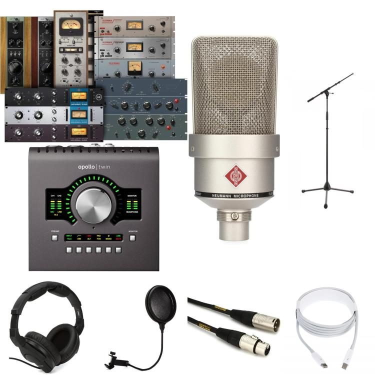 TLM 103 Nickel + Apollo Twin Duo MKII Recording Package
