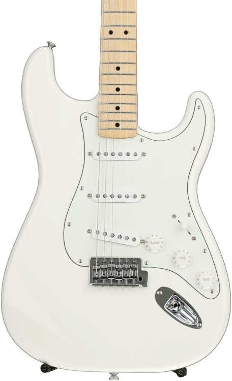 Fender Standard Stratocaster Arctic White With Maple Fingerboard