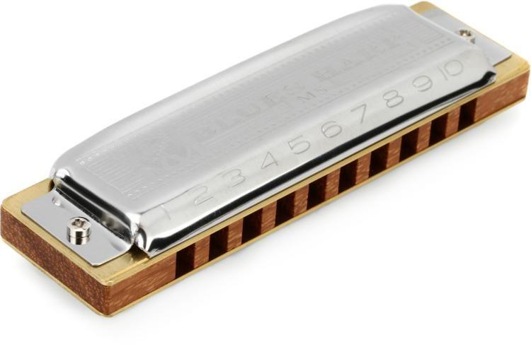 Hohner Blues Harp Harmonica Key of B Flat Brand NEW in Box