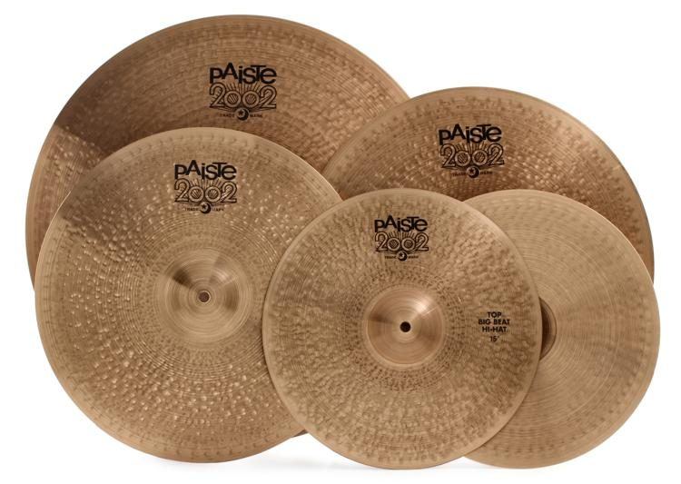d0756c21c0c Paiste 2002 Big Beat Cymbal Pack with Free 18