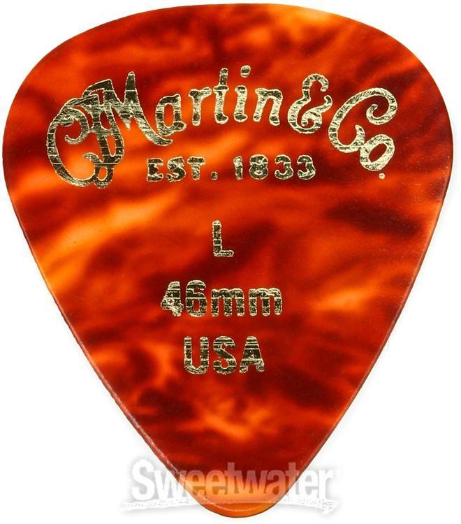 Fender 351 Nylon Guitar Picks 0.73 12-Pack
