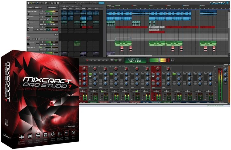 Mixcraft Pro Studio 7 (download)