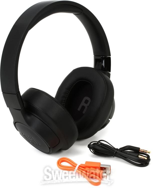 Jbl Lifestyle Tune 750btnc Over Ear Bluetooth Noise Canceling Headphones Black Sweetwater