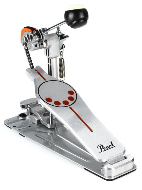 Chrome Pearl P-930 Bass Drum Pedal with Interchangeable Cam