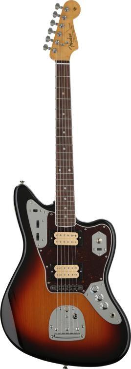 fender kurt cobain jaguar nos 3 tone sunburst w rosewood Kurt Cobain Style