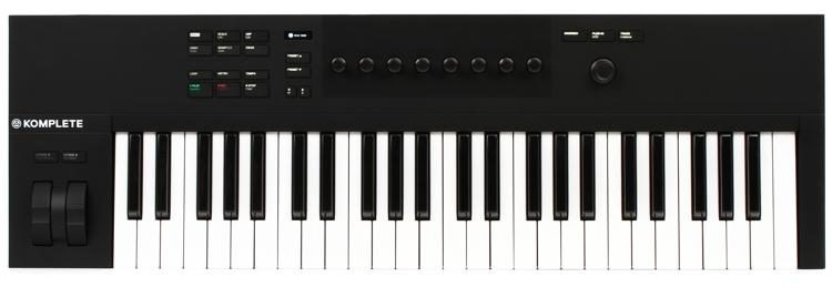 Native Instruments Komplete Kontrol A49 Semi Weighted USB MIDI Keyboard