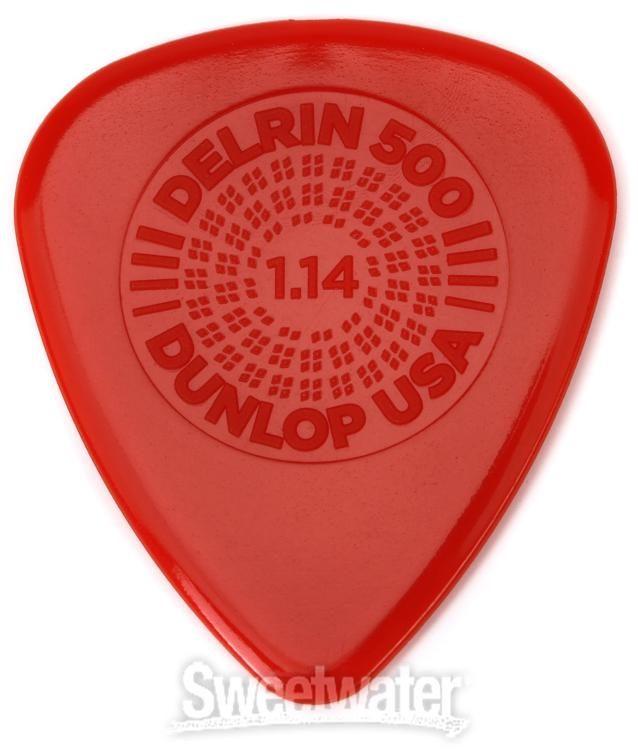 Jim Dunlop Delrin Guitar Picks 12 Pack .71mm Gauge