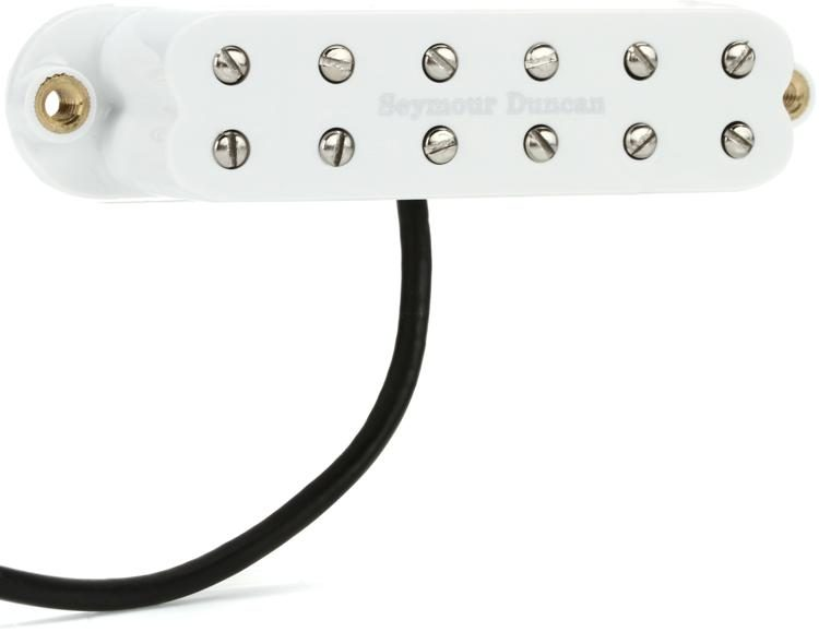 SJBJ-1n JB Jr  Humbucker Strat Pickup - White Neck/Middle