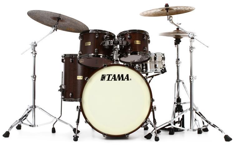 b248e262183a Tama SLP G-Bubinga 4-piece Shell Pack - Satin Mocha Tigerwood ...