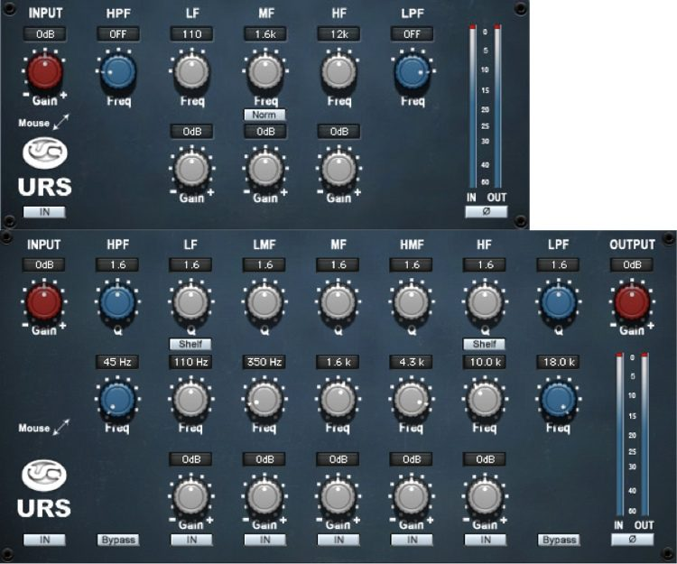 Classic Console N Series & N-MIX EQ Plug-in - TDM