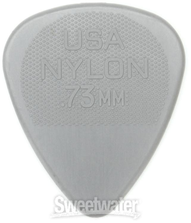 Player/'s Pack grey Dunlop Nylon Standard Picks 0.73 mm 12 pcs.