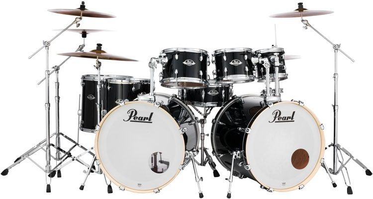 Pearl Export EXX 8 Piece Double Bass Drum Set With Hardware