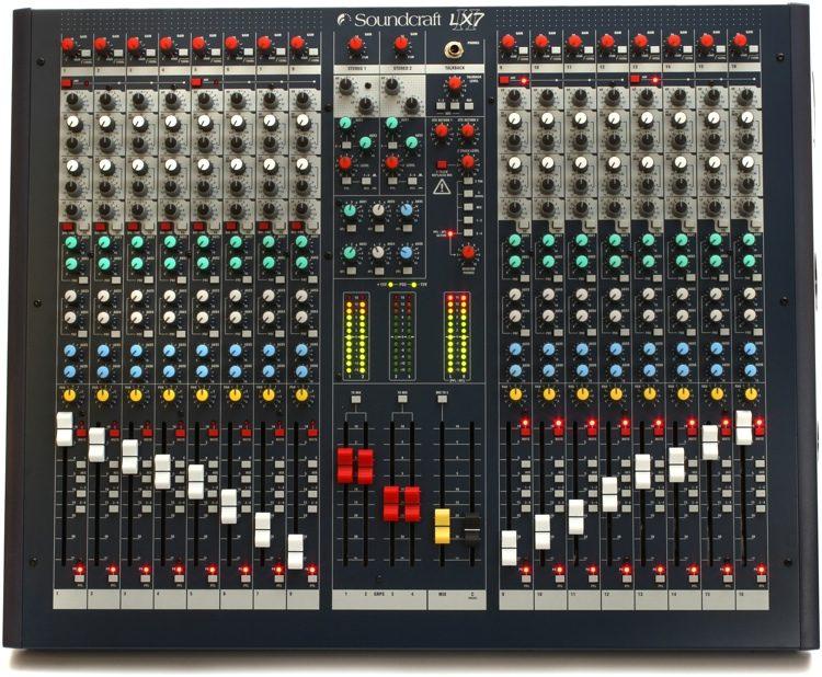 LX7ii 16-channel Mixer