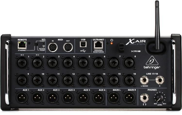 X Air XR18 Tablet-controlled Digital Mixer