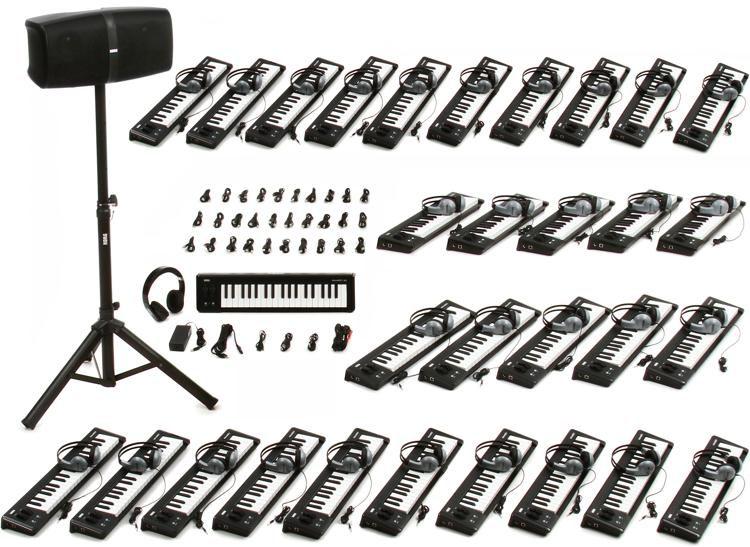 microLAB Online 37 Key 30 + 1 School Music Lab Bundle