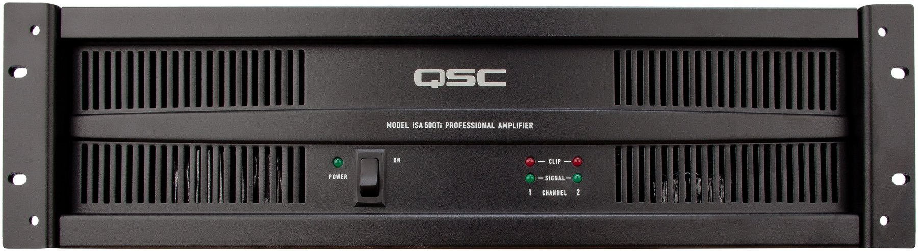 Qsc Isa500ti Power Amplifier Sweetwater 58 W Audio Image 1