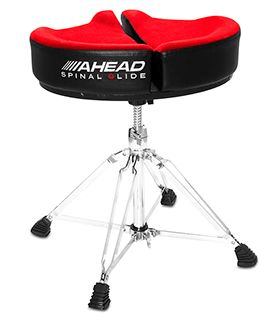 SPG-R Ahead Spinal-G Drum Throne Red