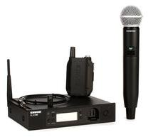 Shure GLXD124R/85/SM58 Advanced Combo Wireless System