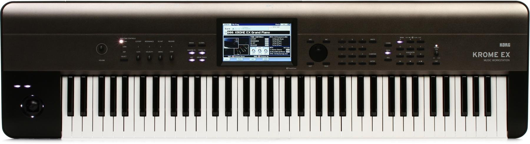 Korg Krome EX 73-key Synthesizer Workstation | Sweetwater