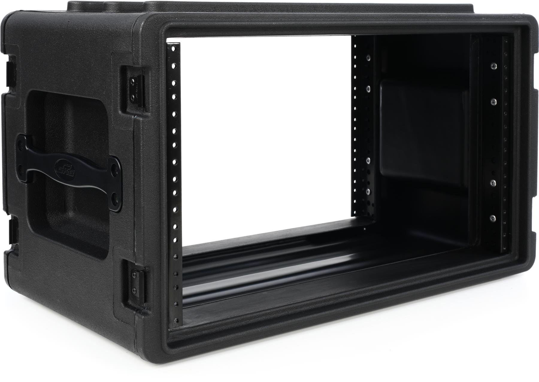SKB 1SKB-R4S Roto-Molded Shallow Rack Case | Sweetwater
