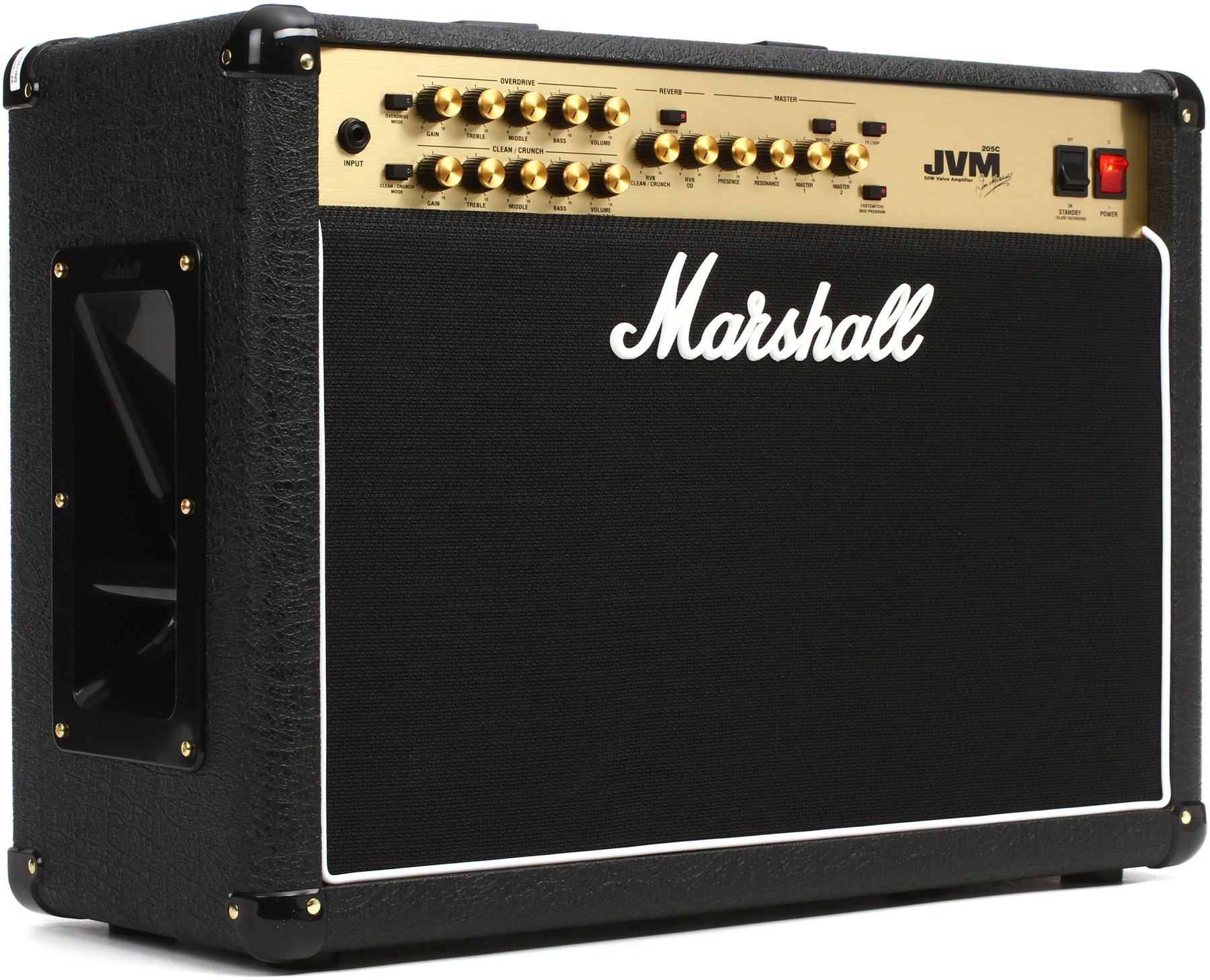 Marshall Jvm205c 50 Watt 2x12 2 Channel Tube Combo Amp Sweetwater Amplifier Image 1